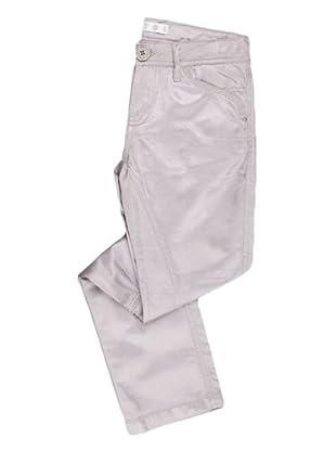 Naf Naf Chevignon Pantalón Brillo (gris)