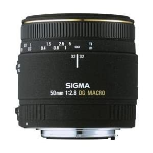 シグマ 50mm F2.8 EX DG MACRO ソニー用