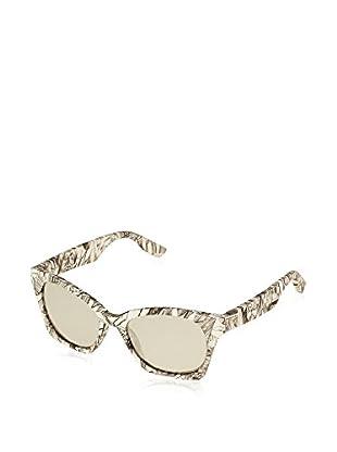 Mcq Alexander McQueen Sonnenbrille 0033/F/S_SSB (57 mm) weiß/schwarz