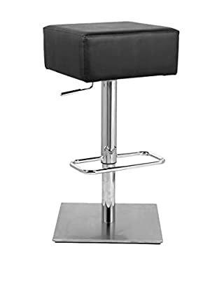 Manhattan Living Marshmallow Bar Stool, Black