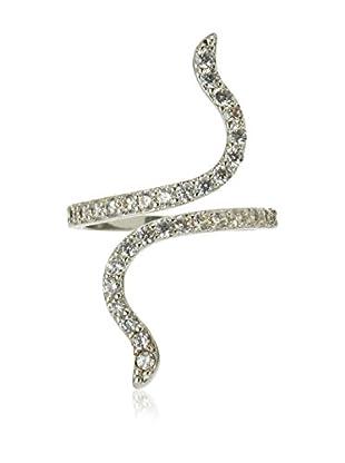 Diamond Style Ring Entwine Ring