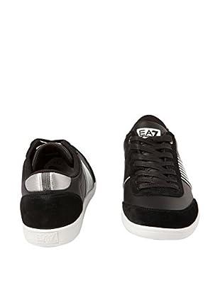 Emporio Armani 7 Zapatillas Lebedos (Negro)