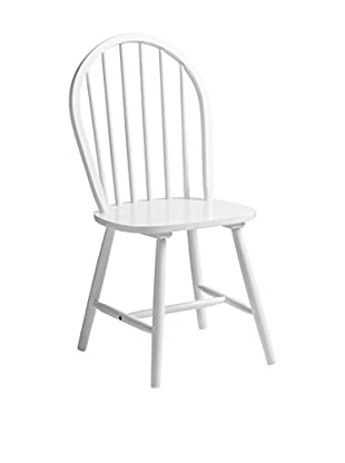 Premier Houseware  Stuhl 4er Set 2404052 weiß