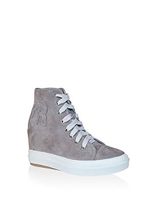 Ruco Line Sneaker Zeppa 4901 Camoscio S