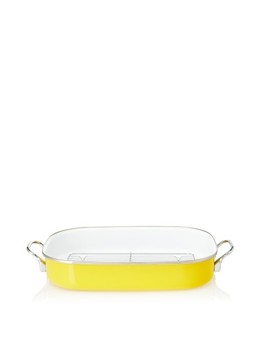 Reston Lloyd Calypso Basics Roaster with Removable Rack (Lemon)