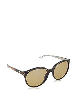 Gucci Sonnenbrille 3697/S-H61 (56 mm) dunkelbraun