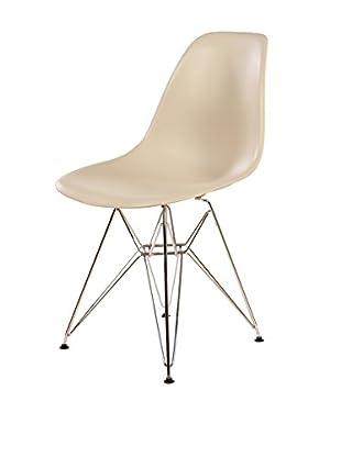 Stilnovo Mid-Century Eiffel Dining Chair, Beige