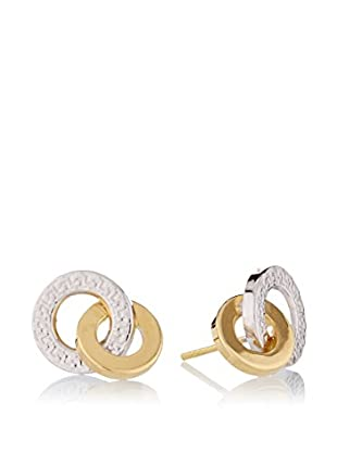 Rhapsody Orecchini Interlocking oro bicolore 18 Kt
