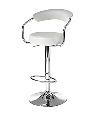 Contemporary Living Set Taburete de bar 2 Uds. Crux Blanco