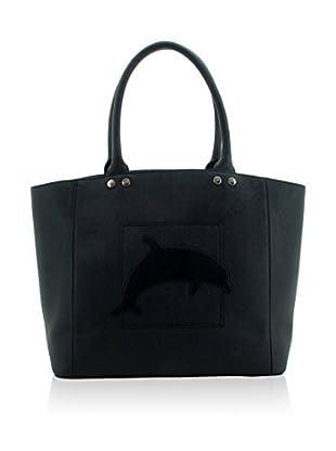 davidelfin Bolso shopping Flipper Negro