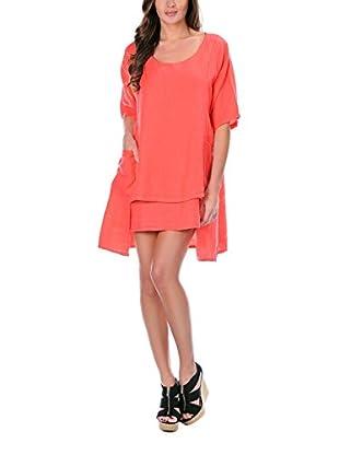 100% lino Vestido Gloria