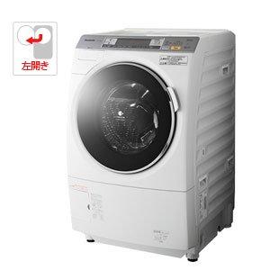 パナソニック 9.0kg ドラム式洗濯乾燥機【左開き】(クリスタルホワイト)Panasonic ナノイー エコナビ スピンDancing NA-VX7100L-W