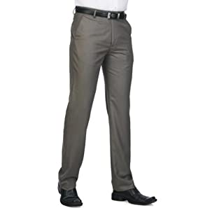 Stop Mens Slim Fit Flat Front Formal Trouser | Size - 30 | Item # 6572666