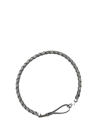 Trussardi Cinturón Trenzado (gris)