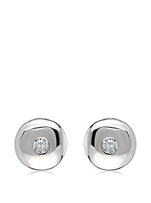 Divas Diamond Pendientes Diamond Solitaire plata de ley 925 milésimas