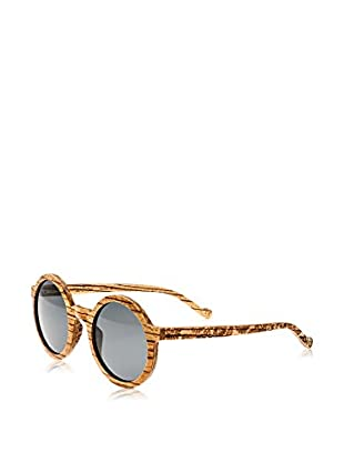 Earth Wood Sunglasses Sonnenbrille Canary (49 mm) braun