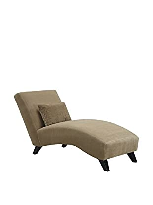 Luxury Home Cameron Chaise, Beige