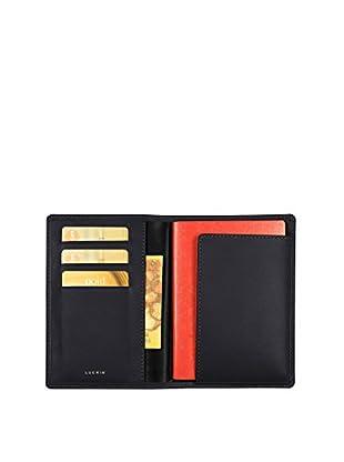 Lucrin Brieftasche PM1137_VCLS_NRR schwarz