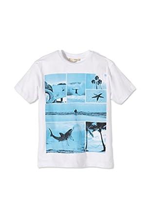 LTB Jeans T-Shirt Adventure (weiß)