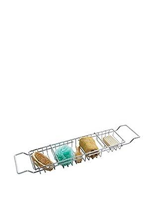 Premier Housewares Duschregal 1606006 silberfarben
