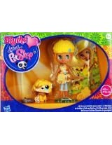 Blythe Loves Littlest Pet Shop - Colourfully Cute Collection - Groovy Gold - B41 Blythe 2409 Mop Dog and Accessories