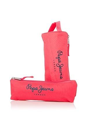 Pepe Jeans Set x 2 Estuches Fucsia