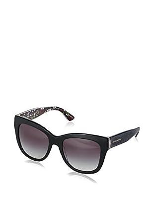 Dolce & Gabbana Gafas de Sol 4270 30218G (55 mm) Negro