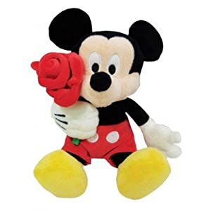 Disney MBE-WDP0201 Mickey with Rose 10-inch