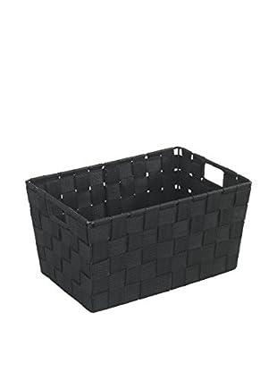 Wenko Aufbewahrungskorb 2er Set schwarz