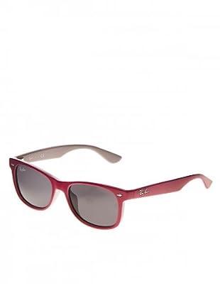 Ray Ban Sonnenbrille 9055S grau/fuchsia