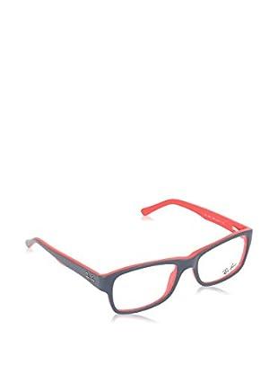 Ray-Ban Gestell 5268 518052 (52 mm) grau/rot