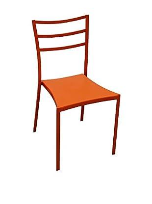 Special Home Set Silla 4 Uds. Naranja