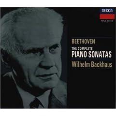 輸入盤ウィルヘルム・バックハウス独奏 ベートーヴェン・ピアノソナタ全集(1950年モノラル録音)の商品写真