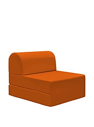 13Casa Chaiselongue Hocker Petra B7 orange