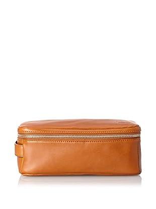 Jack Spade Men's Zipper Top Travel Kit (Tobacco)