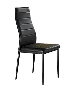 Contemporary Living Special Chairs & Co. Stuhl 4er Set Camaro schwarz