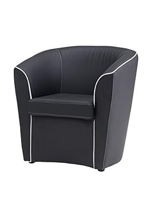 13 Casa Sessel schwarz 70 x 60 x 70H cm