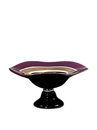 Dale Tiffany Melrose Decorative Bowl, Purple Multi