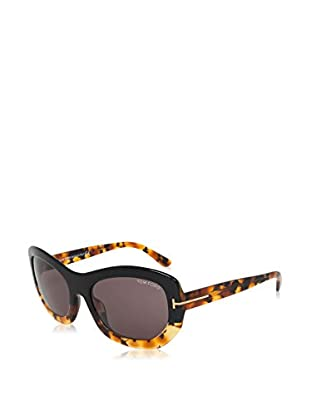 Tom Ford Occhiali da sole FT-AMY 0382S-05A (57 mm) Nero/Avana/Grigio Scuro