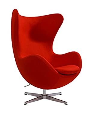 Euro Home Collection Columbia Chair, Red