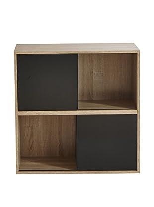 13 Casa  Bücherregal Pure natur/schwarz