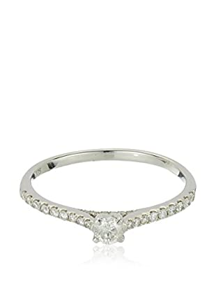 Bentelli Anillo 9K Gold 0.3Ct Diamonds
