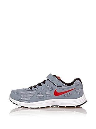 Nike Zapatillas Revolution 2 Psv (Gris / Rojo)