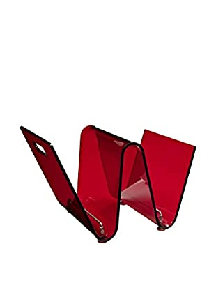 Modway Current Magazine Holder (Red)