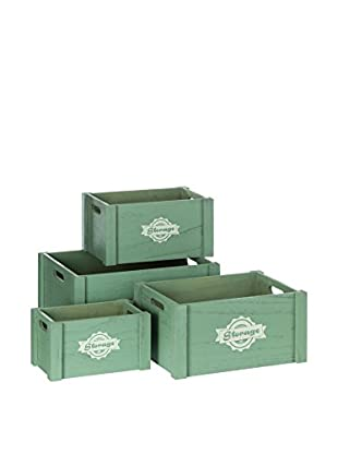 NORDIC & CO Aufbewahrungsbox 4er Set
