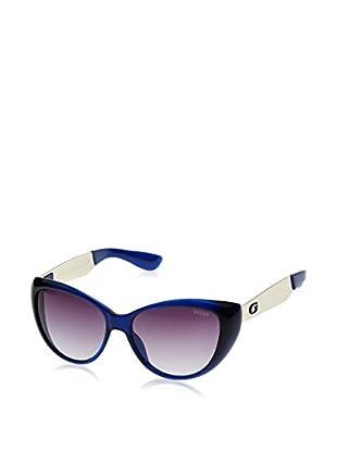 Guess Occhiali da sole GU7372 (56 mm) Blu Scuro