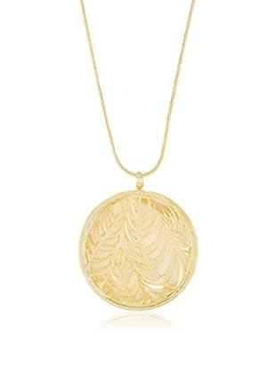 Cordoba Jewels Set Kette und Anhänger  vergoldetes Silber 925