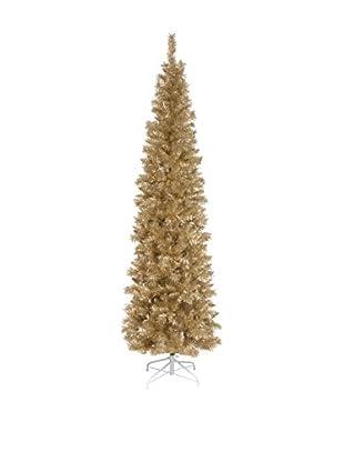 National Tree Company 6' Champagne Tinsel Tree