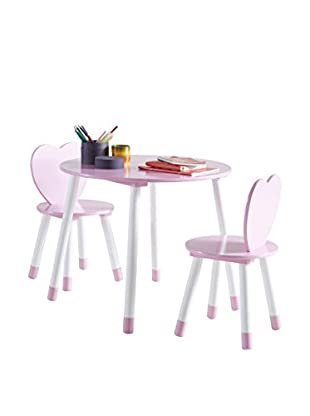 Unokids Set Mesa con Sillas Kid