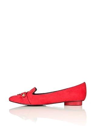 Love Moschino Bailarinas Salvador (Rojo)